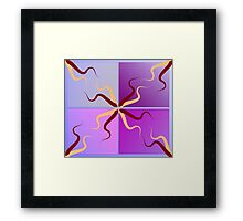 tenicles Framed Print