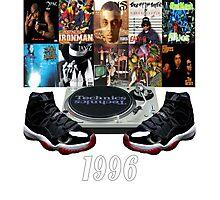 1996 Hip Hop & Jordans (Infrared23) Photographic Print