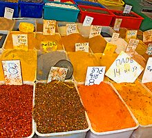 Spices by Eyal Nahmias