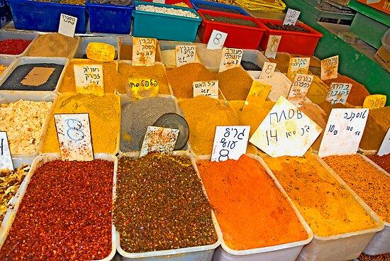 Spices by Eyal Nahmias