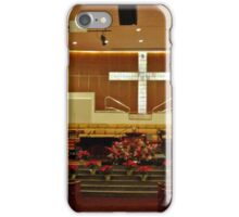 Sanctuary Decorated For the Christmas Season iPhone Case/Skin