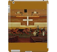 Sanctuary Decorated For the Christmas Season iPad Case/Skin