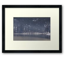 lake gregory Framed Print
