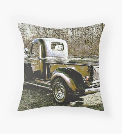 1946 Half Ton Throw Pillow
