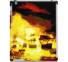 Bombardment of Algiers by Lord Exmouth in August 1816 - all products bar duvet iPad Case/Skin