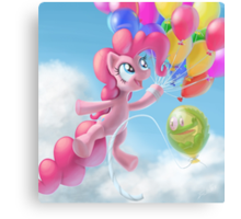Pinkie Sky Canvas Print