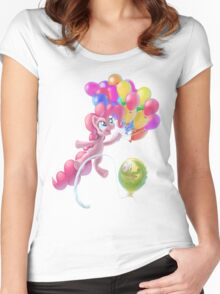 Pinkie Sky Women's Fitted Scoop T-Shirt