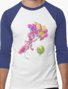 Pinkie Sky Men's Baseball ¾ T-Shirt