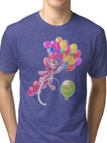 Pinkie Sky Tri-blend T-Shirt