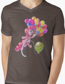 Pinkie Sky Mens V-Neck T-Shirt