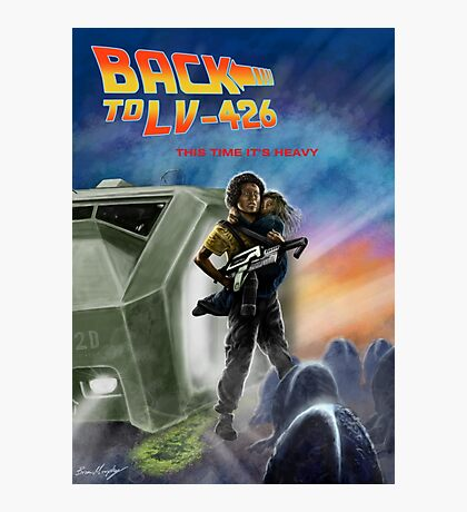 Back To LV-426 Photographic Print