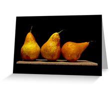 Pears II Greeting Card
