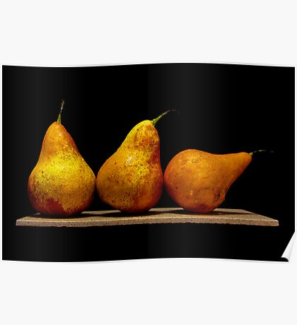 Pears II Poster