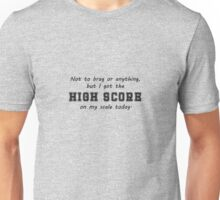 High Score on the Scale Unisex T-Shirt