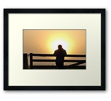 Emperor Of The Sun - Southland New Zealand Framed Print