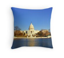 Washington D.C. Capital Building Throw Pillow