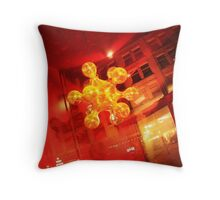 Disglow Throw Pillow