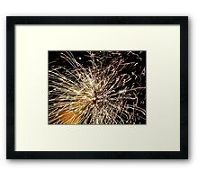 Pyrotechnic Mania - Fire Works - NZ Framed Print