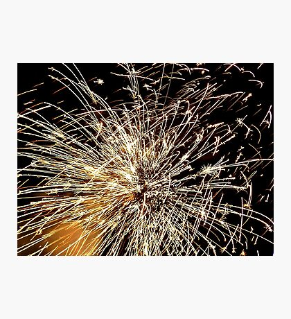 Pyrotechnic Mania - Fire Works - NZ Photographic Print
