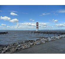 The lighthouse on the Lake Photographic Print