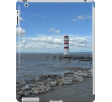 The lighthouse on the Lake iPad Case/Skin