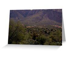 Arizona Mountians  Greeting Card