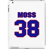 National football player Roland Moss jersey 38 iPad Case/Skin