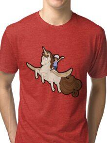 Tina belcher unicorn Tri-blend T-Shirt