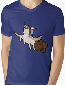 Tina belcher unicorn Mens V-Neck T-Shirt