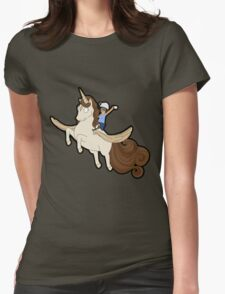 Tina belcher unicorn Womens Fitted T-Shirt
