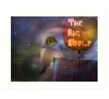 The Big Apple - Silvereye - NZ Art Print