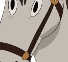 Fred the horse Sticker