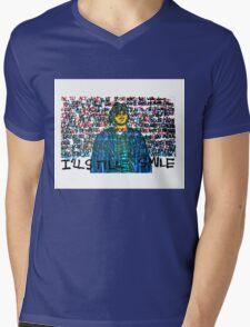 Smile (Eyedea Portrait) Mens V-Neck T-Shirt