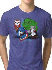 The PandAvengers Tri-blend T-Shirt