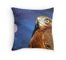They Will Soar On Wings Like Eagles.. -  Harrier Hawk - NZ Throw Pillow