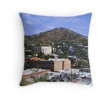 Bisbee, Arizona Throw Pillow