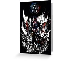 assassin's power Greeting Card
