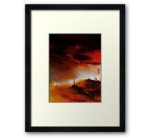 Ember Sky Framed Print