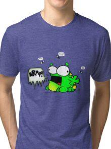 Mr. Frog's Belch Tri-blend T-Shirt