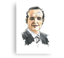 Agent Phil Coulson Canvas Print