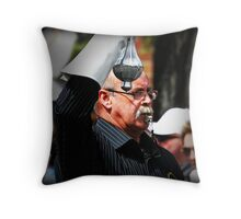 Whistle Blower... Throw Pillow