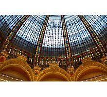 Galeries Lafayette Photographic Print