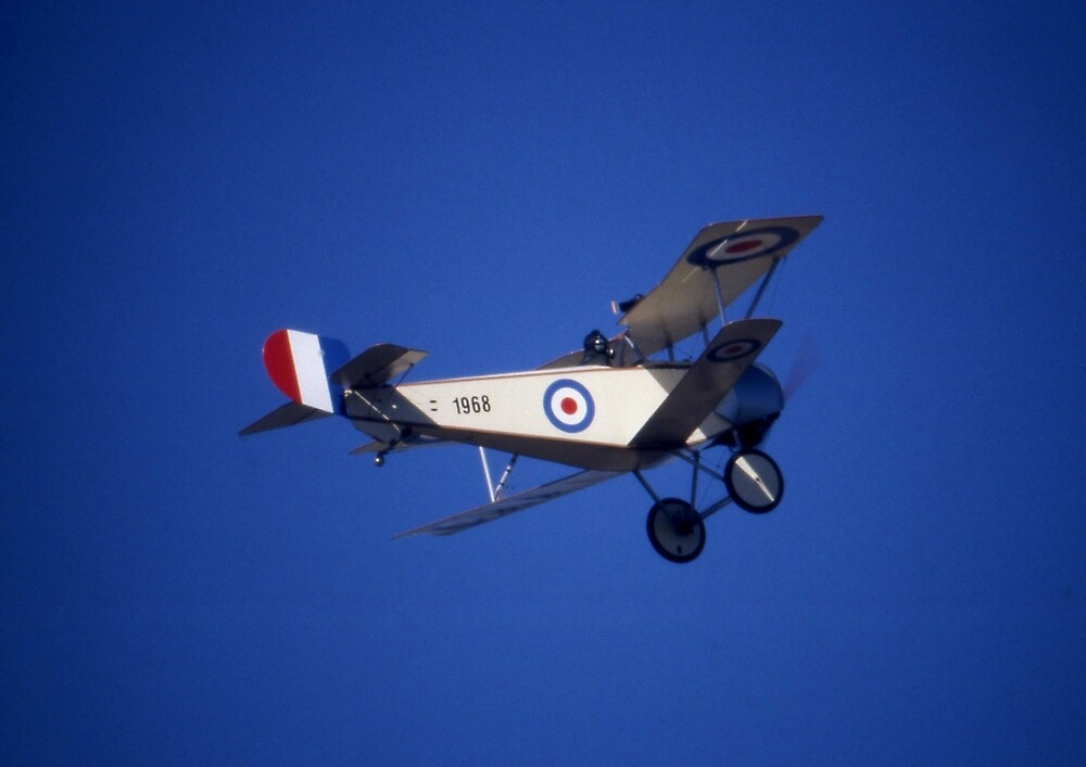 Nieuport Scout, RAAF Museum Air Pageant 2000, Victoria by muz2142