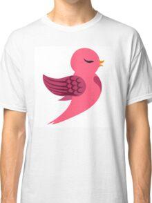 Single cartoon bird flying Classic T-Shirt