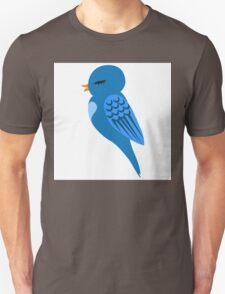 Adorable single cartoon bird Unisex T-Shirt