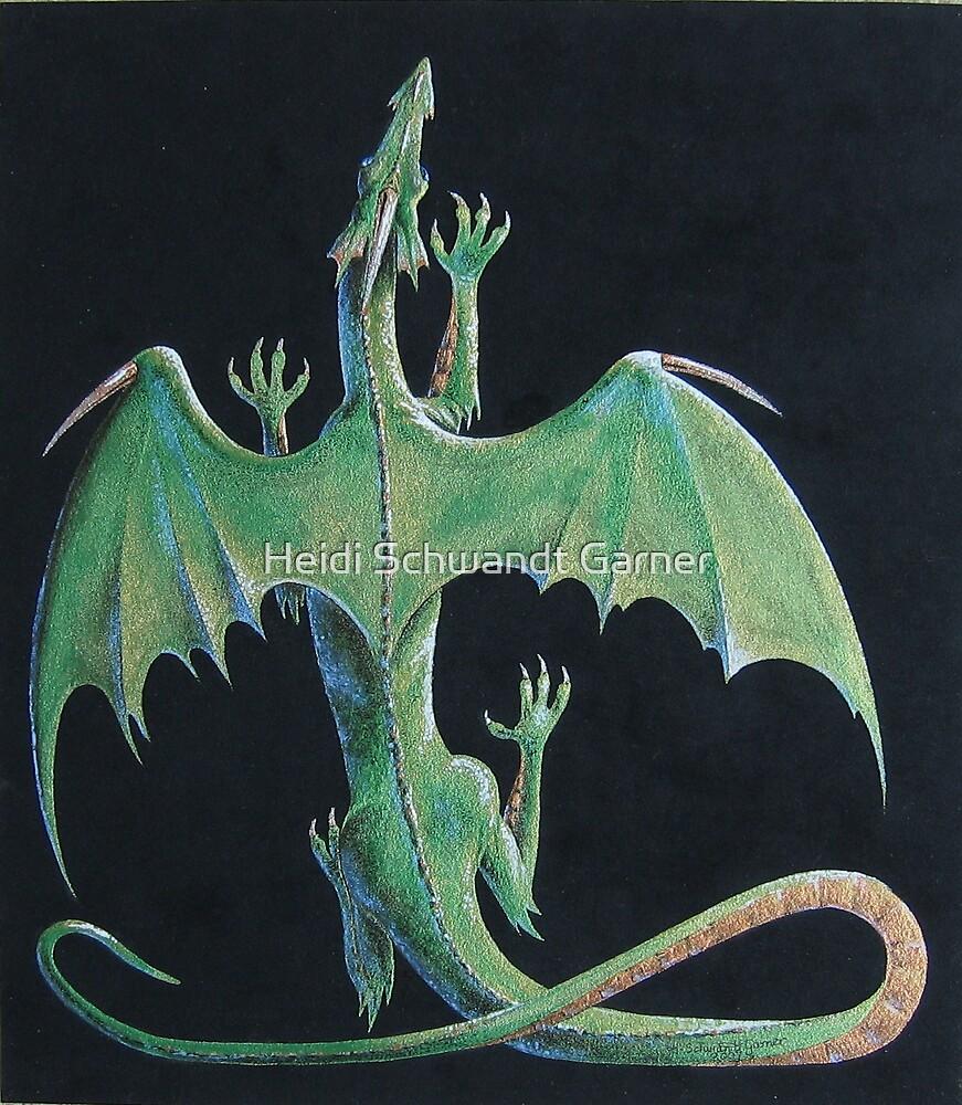 Emerald Dragon by Heidi Schwandt Garner