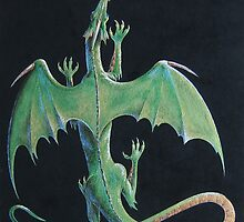 Emerald Dragon by Heidi Schwandt Garner