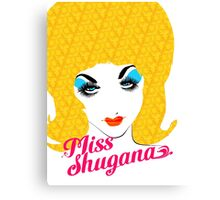 Miss Shugana 2014 - Pashut Edition Canvas Print