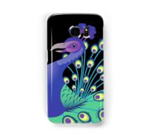 A splendid green and blue Peacock Samsung Galaxy Case/Skin