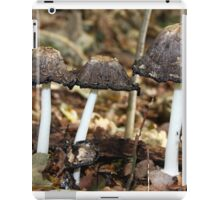 Shaggy Ink Cap iPad Case/Skin